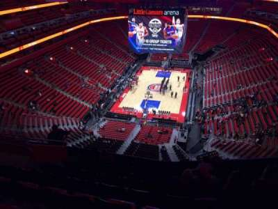 Little Caesars Arena, section: 218, row: 10, seat: 14