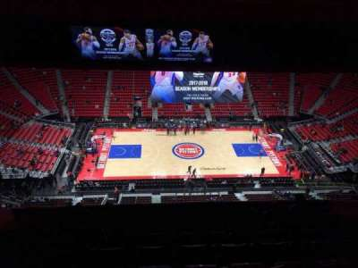 Little Caesars Arena, section: 212, row: 11, seat: 12