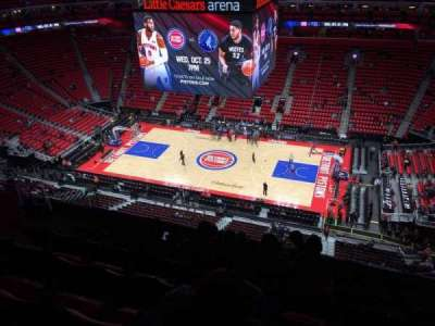 Little Caesars Arena, section: 210, row: 7, seat: 10