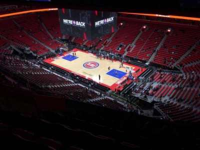 Little Caesars Arena, section: 208, row: 9, seat: 16