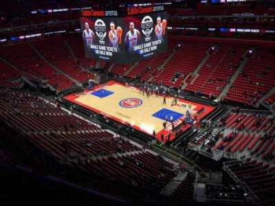 Little Caesars Arena, section: 208, row: 3, seat: 7
