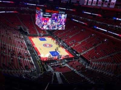 Little Caesars Arena, section: 205, row: 6, seat: 11