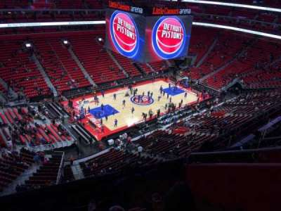Little Caesars Arena, section: 230, row: 6, seat: 5