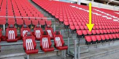 Philips Stadion, section: D, row: 2, seat: 17