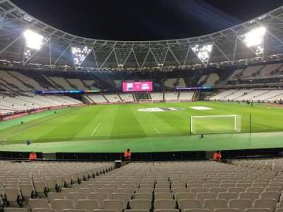 London Stadium, section: 147, row: 22
