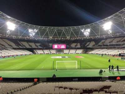 London Stadium, section: 148, row: 22