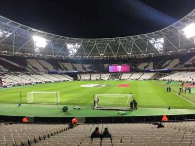 London Stadium, section: 153, row: 22