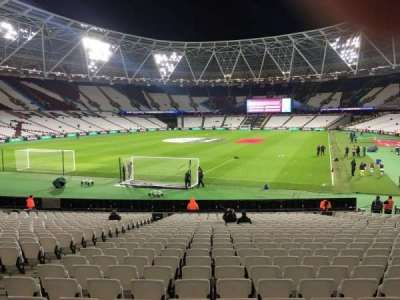 London Stadium, section: 154, row: 22