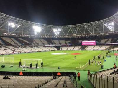 London Stadium, section: 155, row: 22