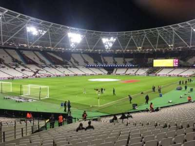 London Stadium, section: 102, row: 24