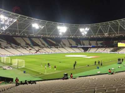 London Stadium, section: 103, row: 25