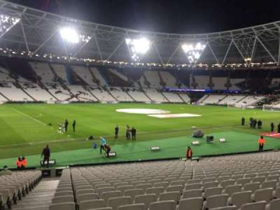 London Stadium, section: 105, row: 23