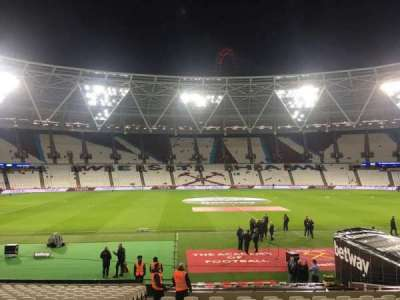 London Stadium, section: 108, row: 30