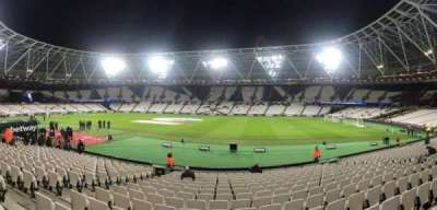 London Stadium, section: 112, row: 18