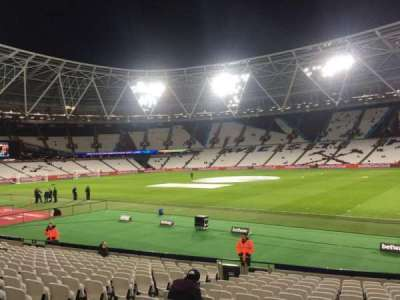 London Stadium, section: 113, row: 20