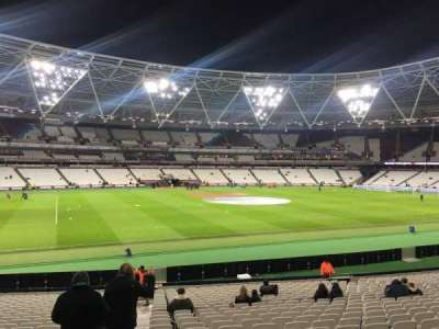 London Stadium, section: 133, row: 25