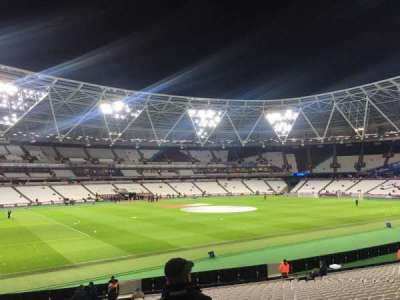 London Stadium, section: 132, row: 25