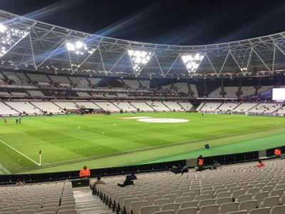 London Stadium, section: 131, row: 25