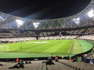 London Stadium, section: 127, row: 22