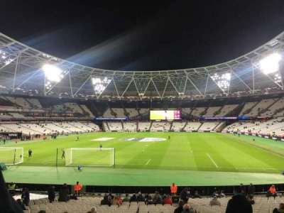 London Stadium, section: 125, row: 22