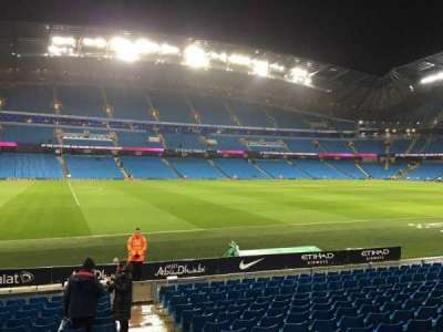 Etihad Stadium (Manchester), section: 130, row: M, seat: 801