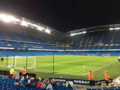 Etihad Stadium (Manchester), section: 134, row: M, seat: 890