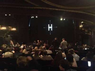 Palace Theatre (West End), section: Stalls, row: Q, seat: 8