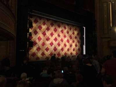 Forrest Theatre, section: Orchestra B, row: N, seat: 21
