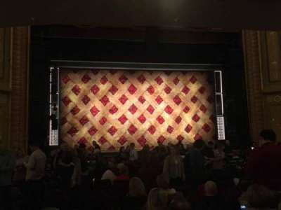 Forrest Theatre, section: Orchestra C, row: R, seat: 113