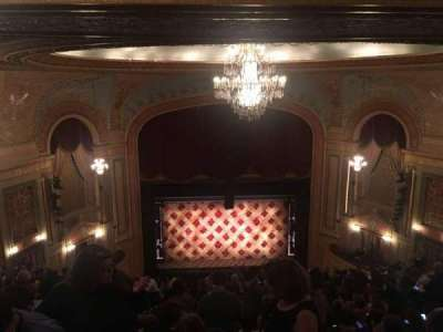 Forrest Theatre, section: Rear Mezzanine C, row: P, seat: 10