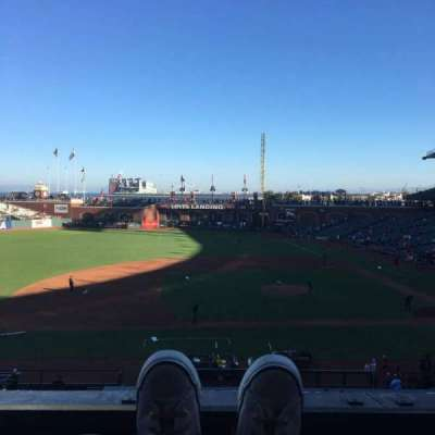 AT&T Park, section: 223, row: A, seat: 2