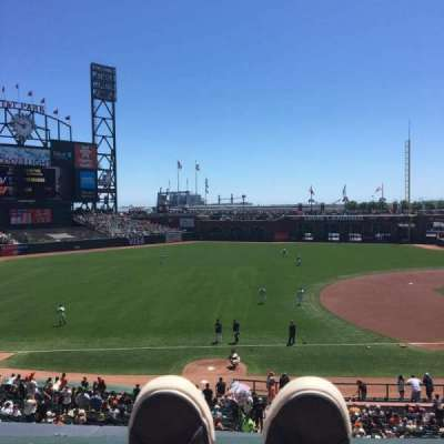AT&T Park, section: 226, row: A, seat: 1