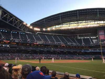Chase Field, section: 112, row: 5, seat: 1