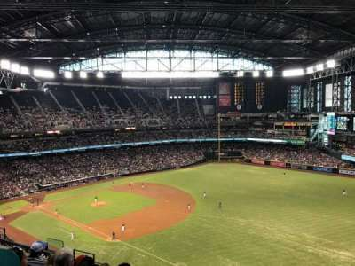 Chase Field, section: 304, row: 12, seat: 1