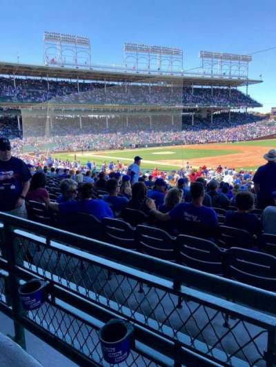 Wrigley Field, section: 235, row: 1, seat: 9