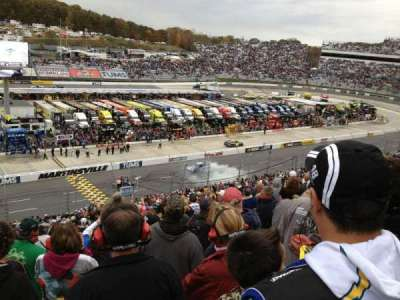 Martinsville Speedway, section: H, row: 42, seat: 22