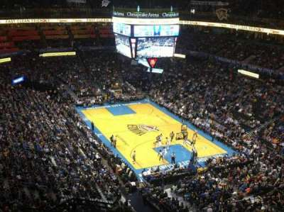 Chesapeake Energy Arena, section: 318, row: M, seat: 19