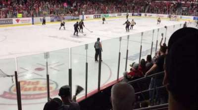 Arena Iamgold, section: 109, row: G, seat: 10