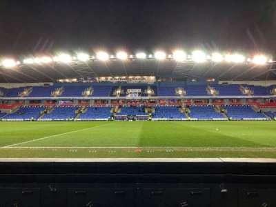 Madejski Stadium, section: Y22, row: A, seat: 144