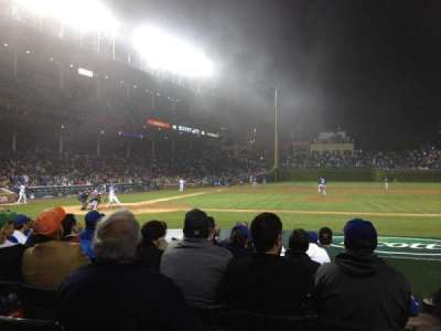 Wrigley Field, section: 27, row: 8, seat: 101