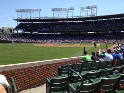 Wrigley Field, section: 102, row: 3, seat: 101