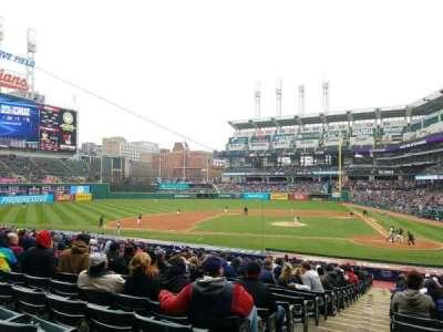 Progressive Field, section: 158, row: GG, seat: 15