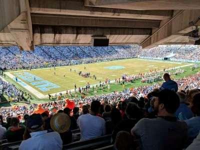 Kenan Memorial Stadium, section: 101, row: ccc, seat: 18