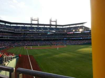Citizens Bank Park, section: 107, row: 4
