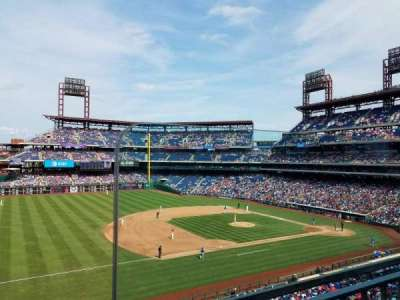 Citizens Bank Park, section: 232, row: 1, seat: 1
