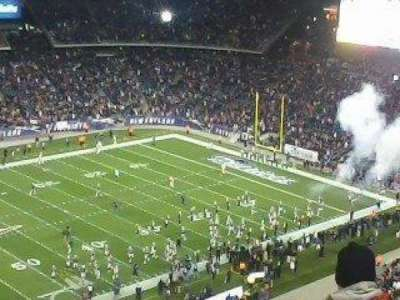 Gillette Stadium, section: 313, row: 7, seat: 8