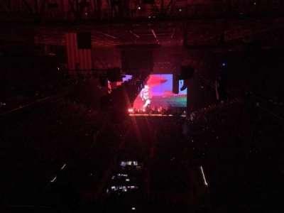 Greensboro Coliseum, section: 222, row: W, seat: 11
