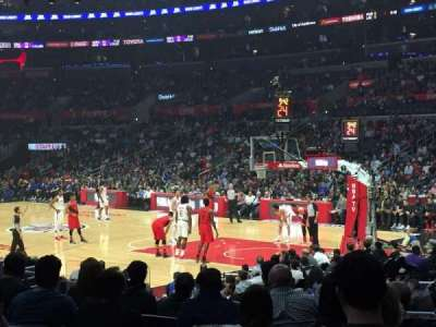 Staples Center, section: 108, row: 13, seat: 16