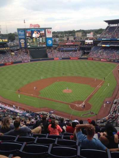 Turner Field, section: 404, row: 16, seat: 108