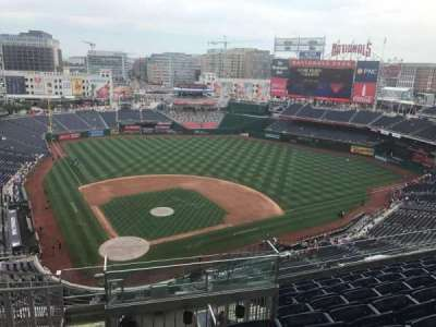 Nationals Park, section: 416, row: H, seat: 26
